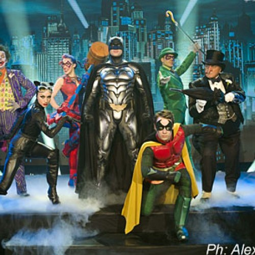 First Look at Batman Live-Action Stage Show