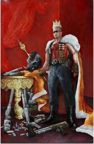 Duke Nukem Portrait