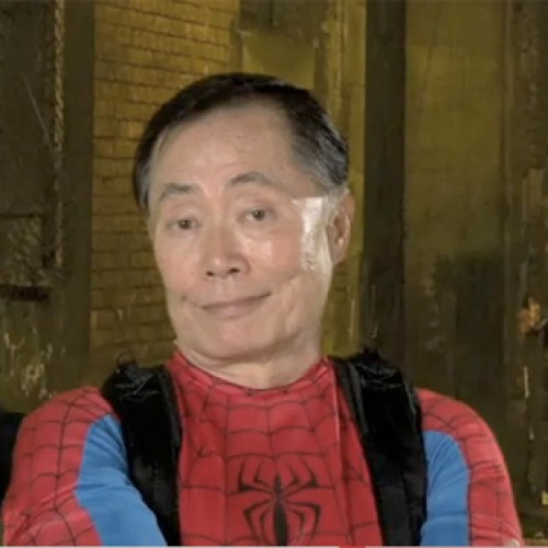 George Takei's Audition Tape for Spider-Man: Turn Off the Dark Surfaces