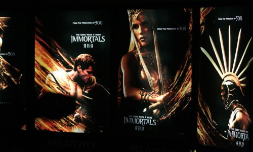 WC 2011: Tarsem Singh's Immortals Poster Reveal and Cast Gallery