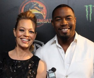 Jeri Ryan and Michael Jai White Mortal Kombat Legacy
