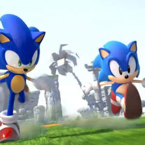 See Extensive Sonic Generations' 2D and 3D Gameplay