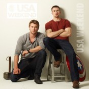 USA Weekly Chris Evans Chris Hemsworth