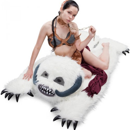 Wampa Rug Giveaway Winner and the Greatest Star Wars Story Ever Told
