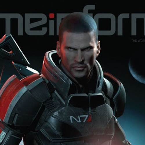 Mass Effect 3 Game Informer Cover: You Look Mad, Commander