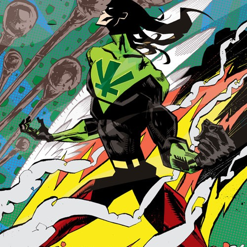 Marijuanaman – Ziggy Marley's Graphic Novel Debut