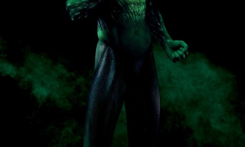 Full CG Body Shot of Ryan Reynolds as Green Lantern