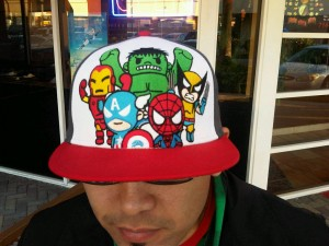 tokidoki superhero hat