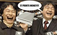 wii prints money