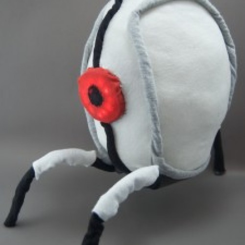 This Portal 2 Turret Plushie Only Shoots Cuteness