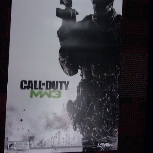 Get a Free Poster For Pre-Ordering Modern Warfare 3 at GameStop