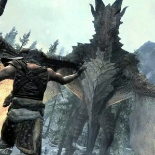 More Details on Dragon Shouts and Talking Dragons in Skyrim