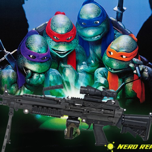Ninja Turtles Concept Art Reveals Turtles with Guns?