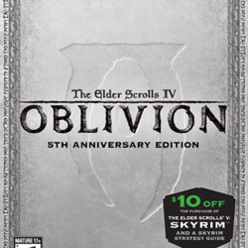 Fancy Oblivion 5th Anniversary Edition is Low Print, $30