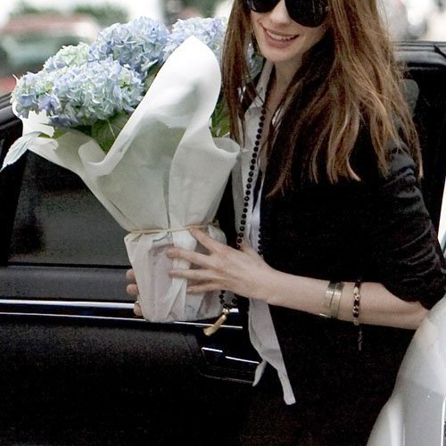 Anne Hathaway Spotted in London During Dark Knight Rises Filming
