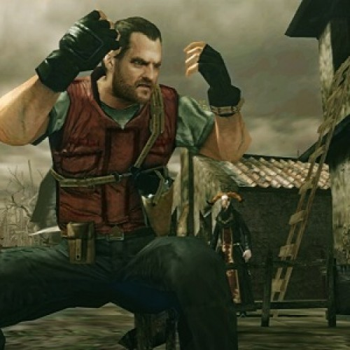 Barry Burton Gets Some Action in Resident Evil: The Mercenaries 3D