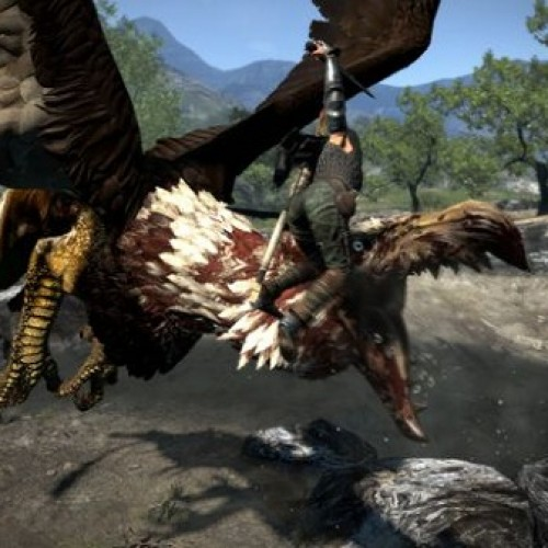 Dragon's Dogma's Giant Griffons Aren't Easily Taken Down