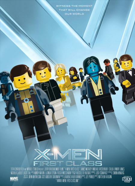 Cool LEGO-ized Versions of This Summer's Movie Posters - Nerd Reactor
