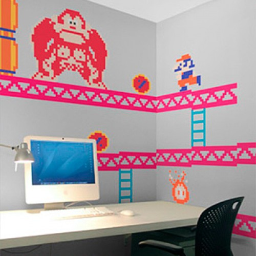 NR Giveaway: Nintendo Wall Graphics Featuring Mario
