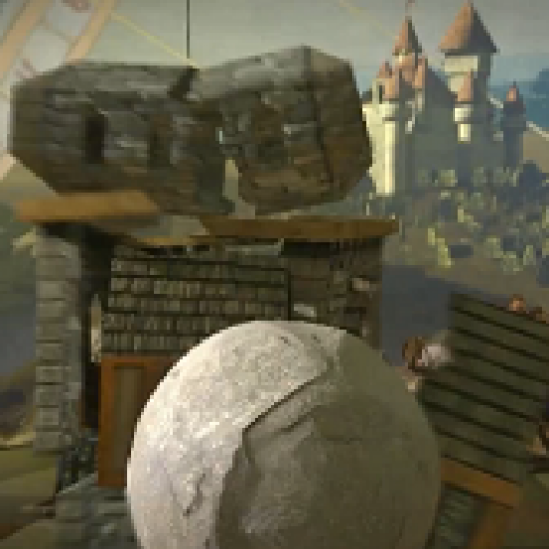 Rock of Ages – Use a Massive Boulder to Crush Your Medieval Foes