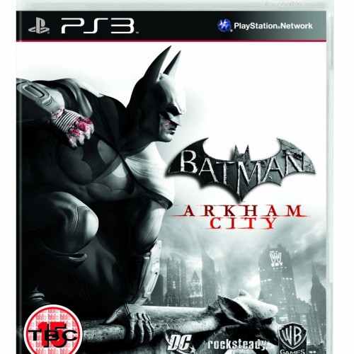 Here's the Official Batman: Arkham City Cover Art