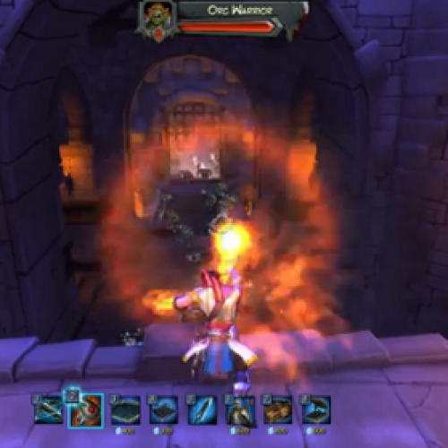 Orcs Must Die! in Very Painful Fire Deaths