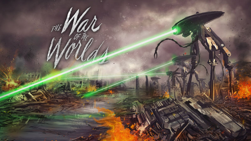war of the worlds alien 1953. War of the Worlds is a brand