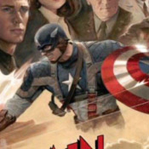 New Retro 'Captain America' Poster Punches Out Hitler