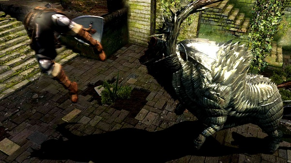 Player abuse abounds in Dark Souls.