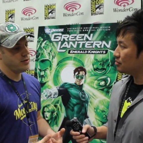 Green Lantern: Emerald Knights Interview with Cast and Crew
