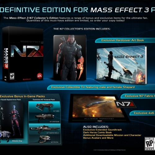 Mass Effect 3 Collector's Edition is Out of this World