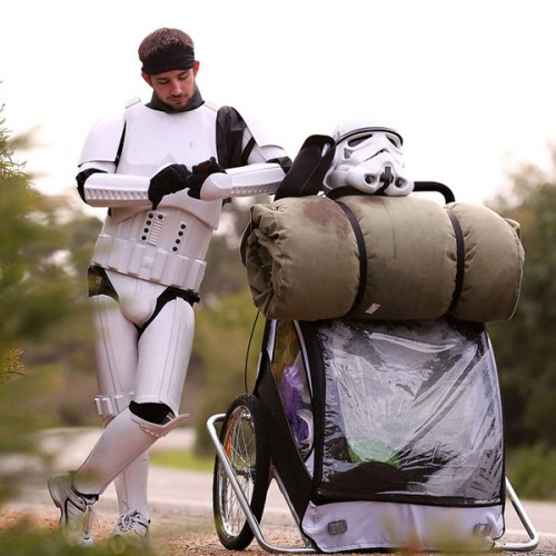 Stormtrooper to Walk 2,547 miles for Charity