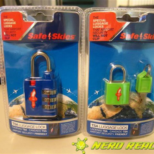 Safe Skies TSA Luggage Lock Review