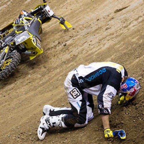 X-Games 17: Travis Pastrana Out of X-Games and the Indy NASCAR Race
