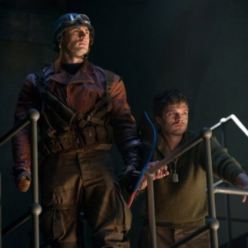 New Official Images from 'Captain America: The First Avenger'
