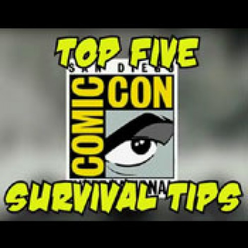 The Nerd Reactor Top 5 Comic-Con Survival Tips!