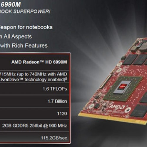 AMD Unleashes AMD Radeon HD 6990M