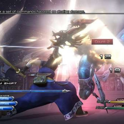 'Final Fantasy XIII-2' Available January 2012, Playable at Comic-Con 2011