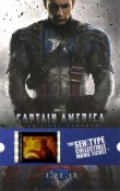 Captain America Senitype Ticket-front