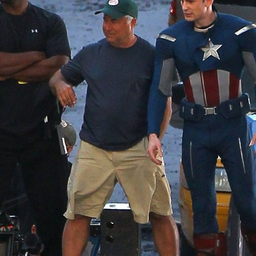 Chris Evans' New Captain America Outfit in 'The Avengers'
