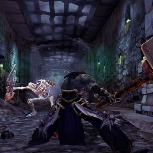 Darksiders 2 has vast, detailed environments that will amaze