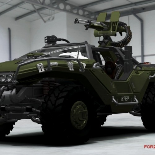 'Forza 4' Will Showcase Halo 4's New Warthog