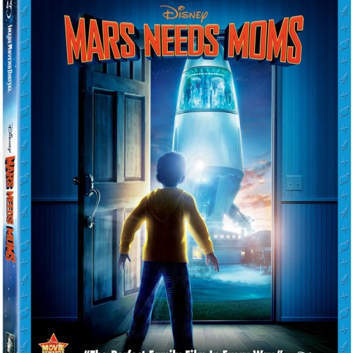 'Mars Needs Moms' Blu-Ray DVD and Movie Review