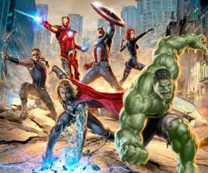 The Avengers Promo Art Big