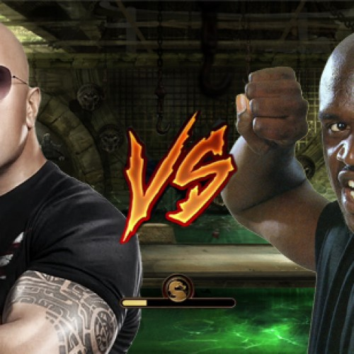 Twitter Face-Off: The Rock vs. Shaq