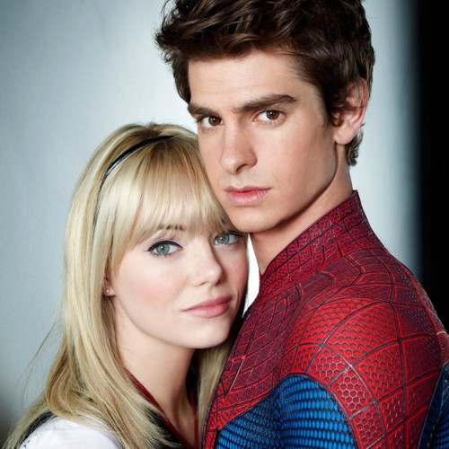 Dreamy Portraits of Andrew Garfield and Emma Stone for 'The Amazing Spider-Man'