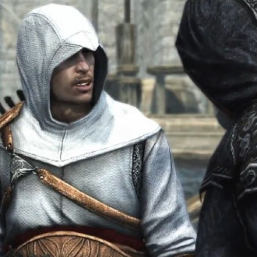 Interview with Assassin's Creed voice actors Cas Anvar and Amber Goldfarb