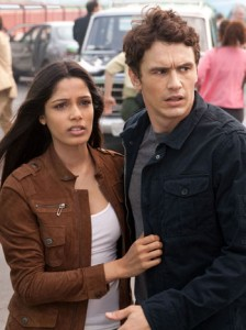 RISE OF THE PLANET OF THE APES screenshot james franco freida pinto will rodman