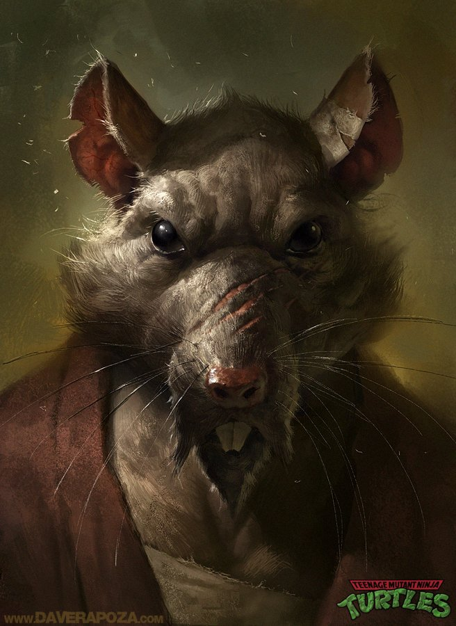 Master Splinter by Dave Rapoza