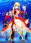 Fate EXTRA Key Art